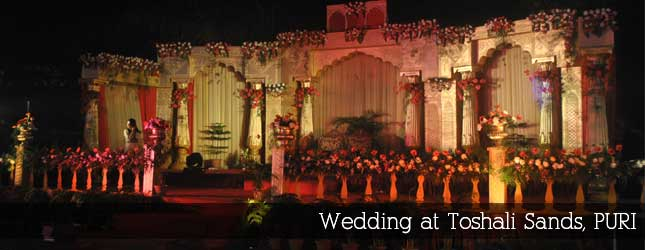 Wedding at Toshali Sands, Puri
